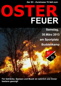 Flyer Osterfeuer
